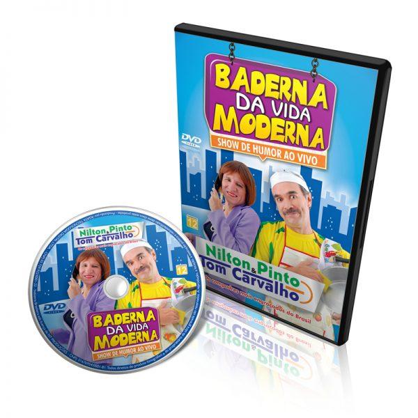 DVD Baderna da Vida Moderna