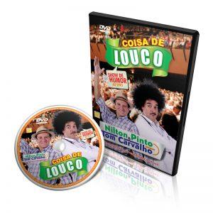 DVD - Coisa de Louco - Nilton Pinto e Tom Carvalho